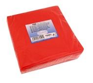 Ubrousky 1-vrstvé, 33x33, červené