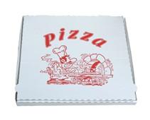 Pizza krabice typ A 32x32x3 potištěná