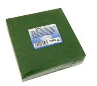 Ubrousky 2-vrstvé, 33x33, tmavě zelené