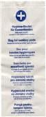 Hygienické pap. sáčky na vložky