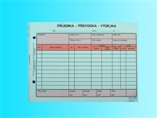 Formulář Výdejka-převodka A5 NCR