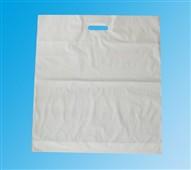 Taška LDPE průhmat 55x60+5-bílá